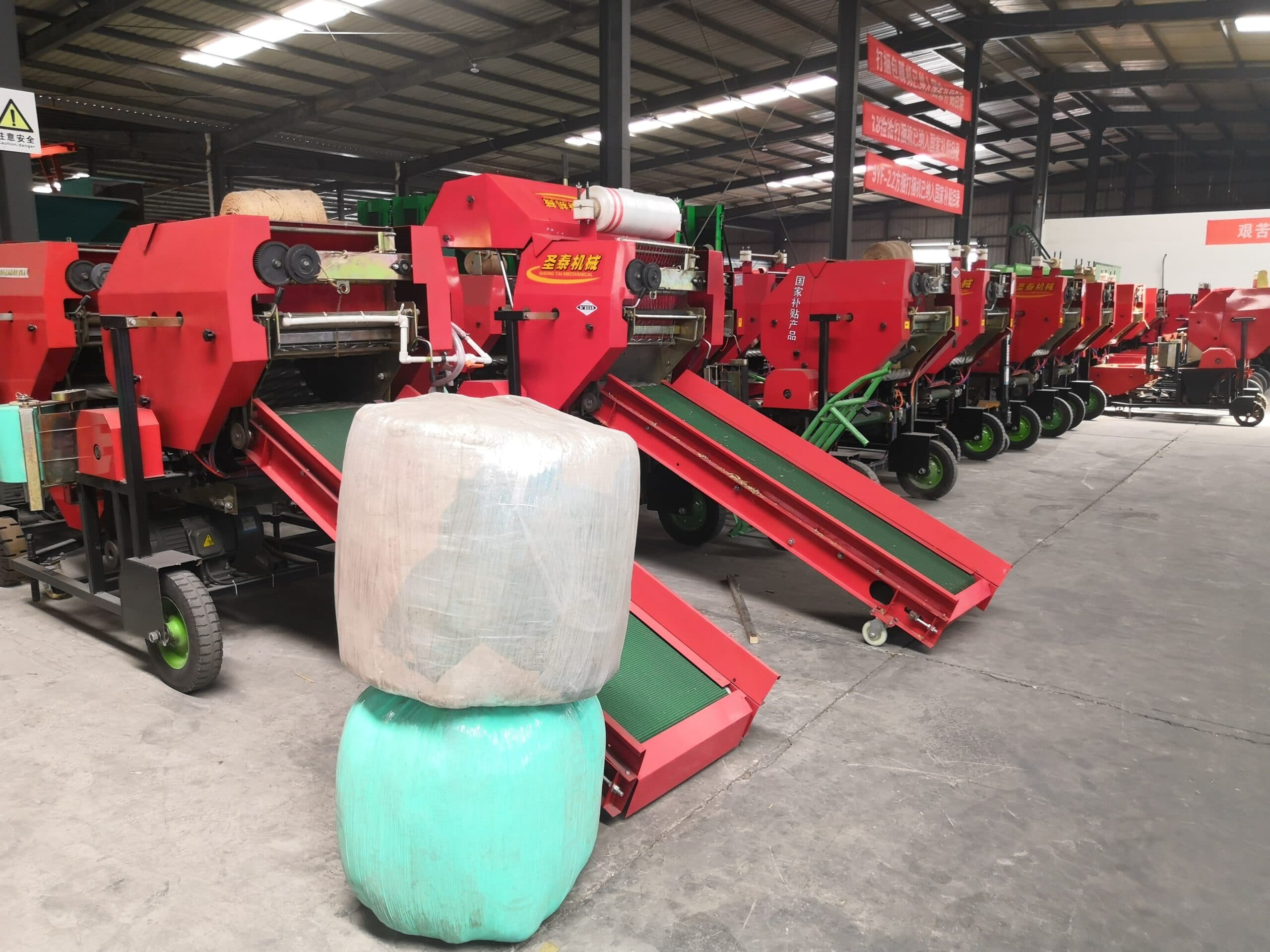 Silage bundling and wrapping machine