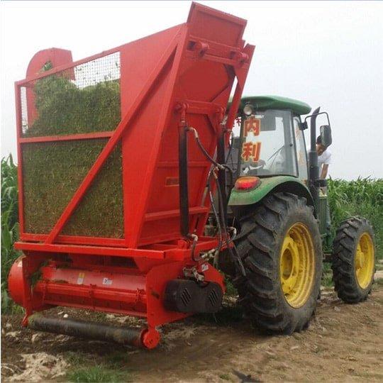 corn silage harvester