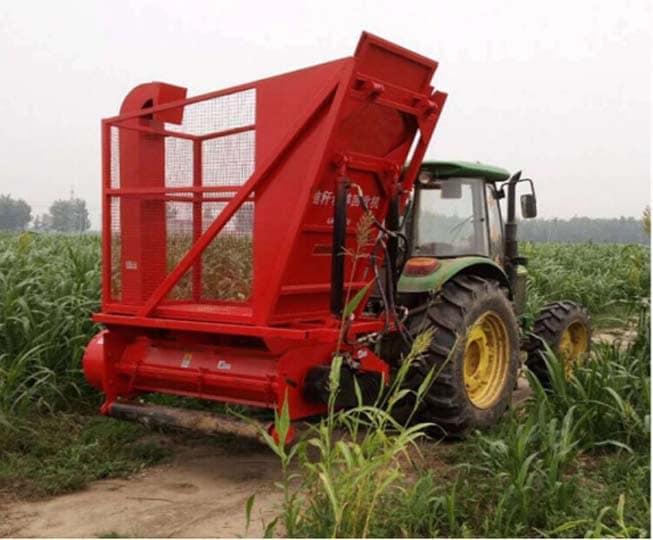 corn straw harvester