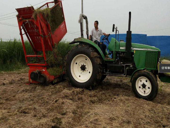 corn-straw-harvester