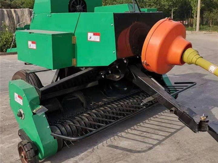 details-of-square-hay-baler-machine