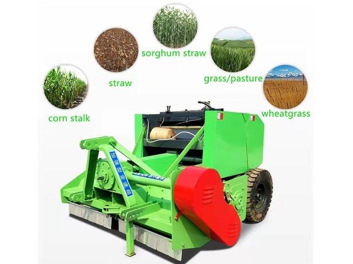 combine-straw-harvester-with-baler-machine