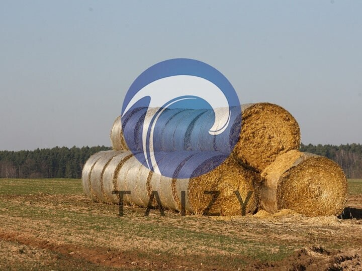 Easy-to-stack-round-bales