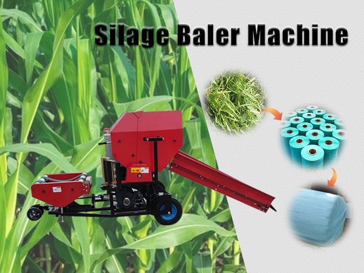silage baler machine
